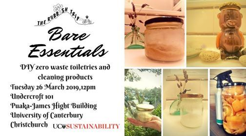 Bare Essentials DIY Zero Waste Toiletries & Cleaners