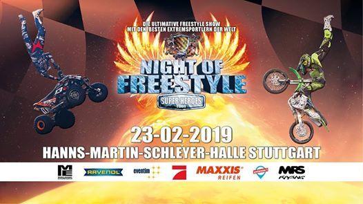 Night of Freestyle Stuttgart 2019