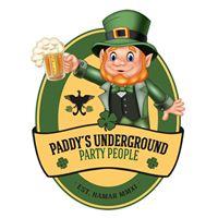 Paddys Underground Party People speller jula inn