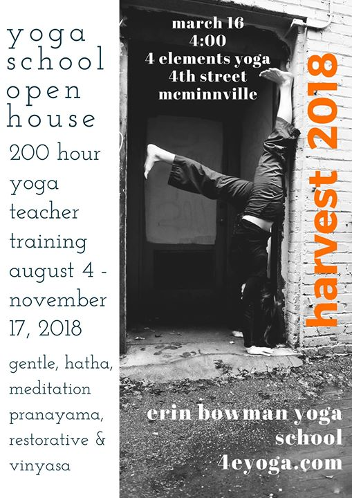 Yoga School Open House