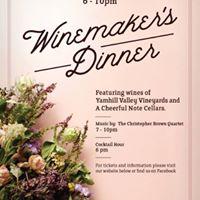 Yamhill Valley Vineyards Winemaker Dinner