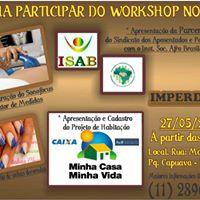 Workshop do Isab