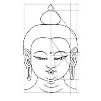 Boeddhas tekenen