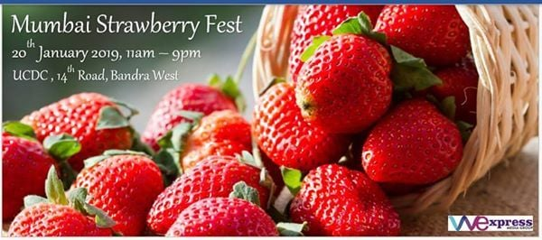 Mumbai Strawberry Fest - 2.0