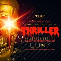Thriller Halloween Friday