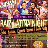 Raiz Latina Night- Latin Night at Latin Club Leon (Shinjuku)