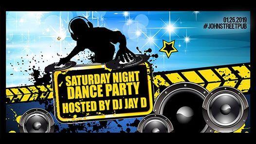 Saturday Night Dance Party at The John St. Pub (DJ Jay D)