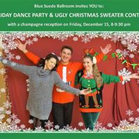 Holiday Dance Party &amp Ugly Christmas Sweater Contest