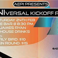 AEPi Presents UNIversal Kickoff Party