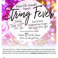 Music4Life Ensemble presents String Fever