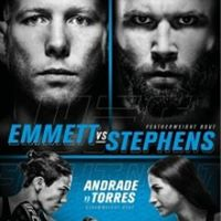 UFC FIGHT NIGHT - EMMETT VS STEPHENS