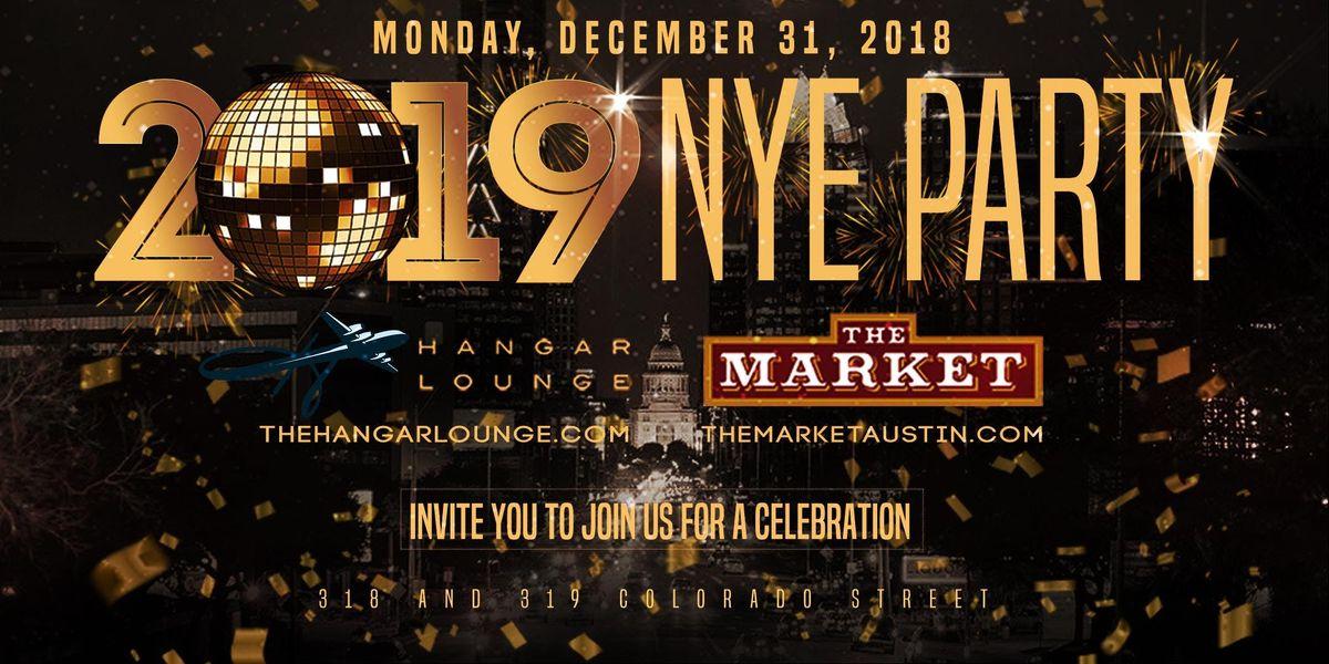 NYE 2019 Party  The Market & Hangar Lounge