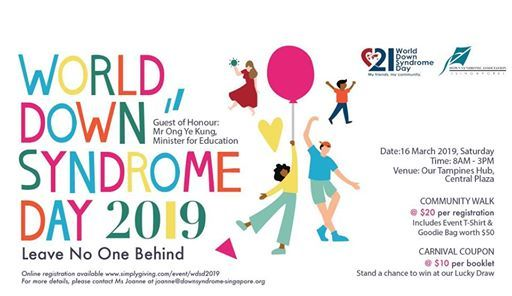 World Down Syndrome Day 2019 at Our Tampines Hub