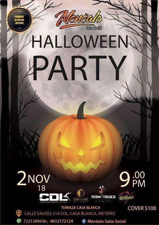 Halloween Party At Terraza Casa Blanca Metepec