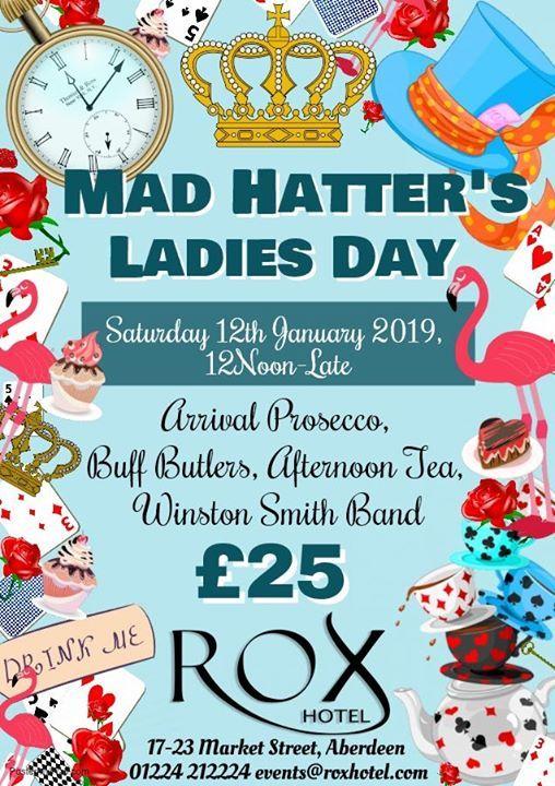 Mad Hatters Ladies Day afternoon tea