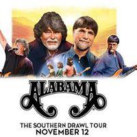 Alabama  Southern Drawl Tour 2017