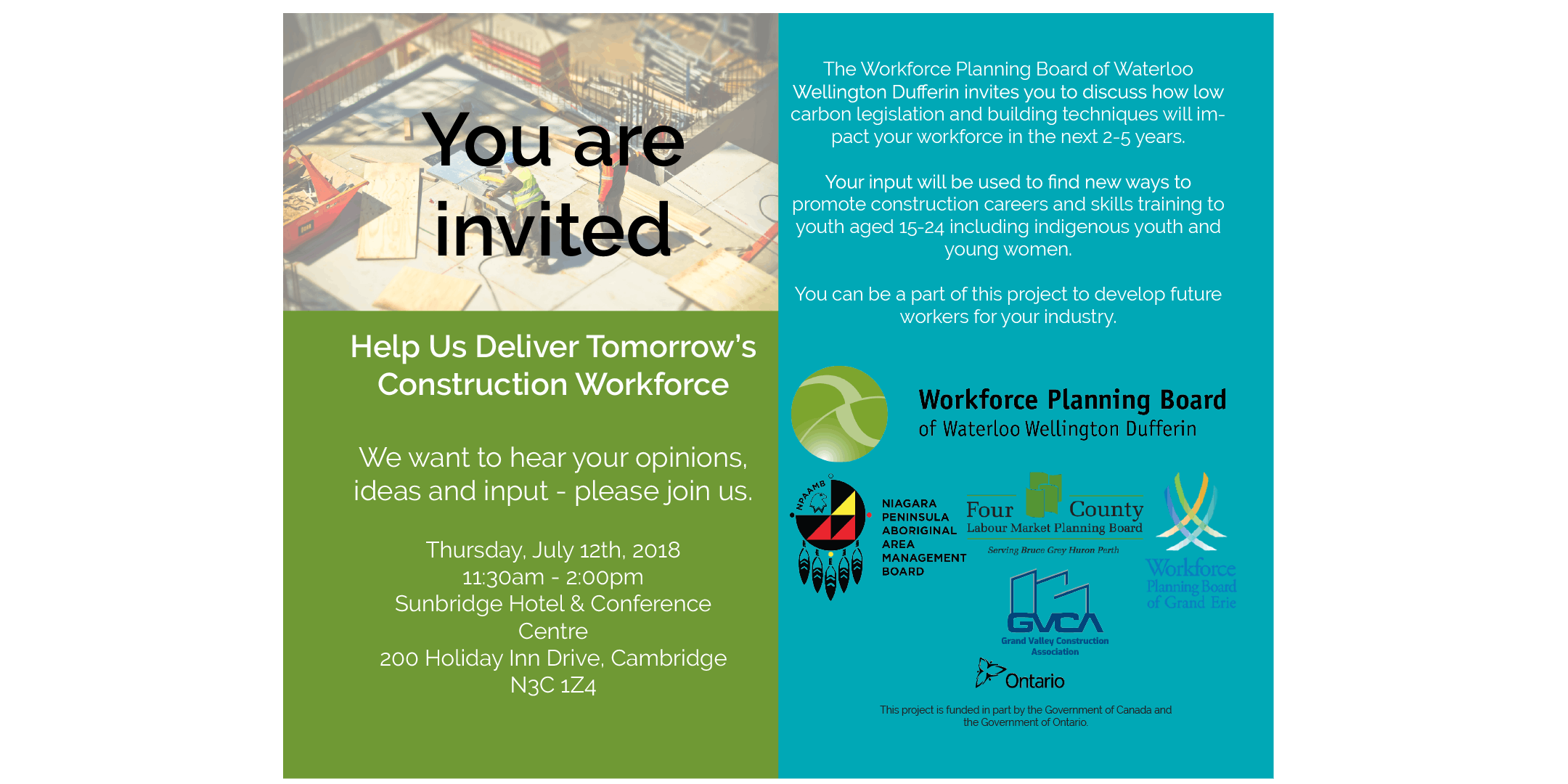 Future Construction Workers Consultation at Sunbridge Hotel and ...