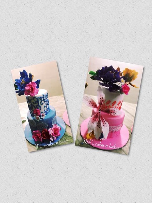 Wedding cake decoration workshop at milis cakes n bakes kolkata wedding cake decoration workshop junglespirit Image collections