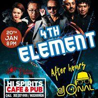 Saturday Night Live-4th Element. Afterhours Dj QNAL