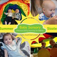 Summer Sizzlers at Baby Sensory