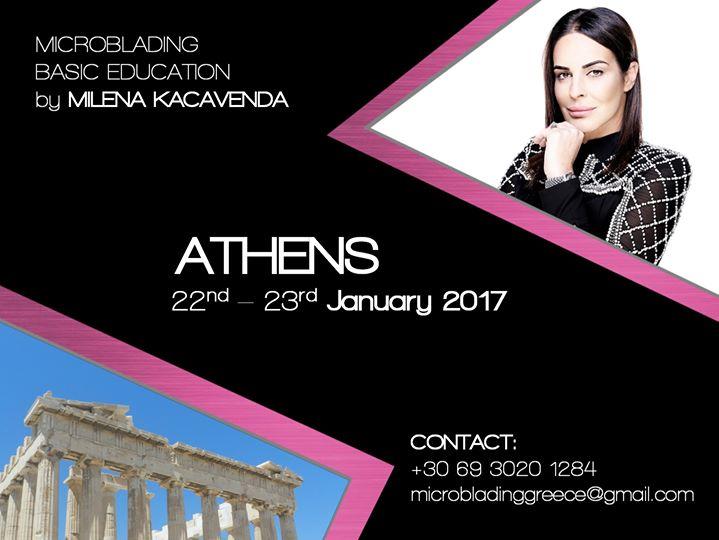 Microblading Workshop Athens (Basic Education )