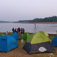 Sharavathi Backwater Trek Camping and Waterfall Visit