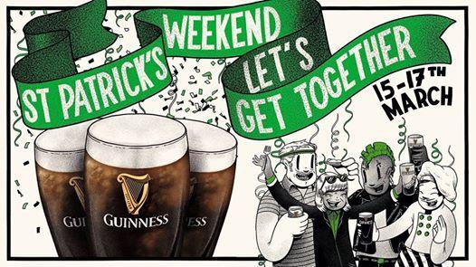 St Patricks Day at Brokies MoodBar
