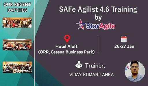 SAFe Agilist 4.6 Training