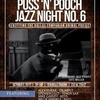 6th annual Puss n Pooch Jazz Night
