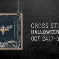 Get Schoold Cross Stitching Halloween Edition