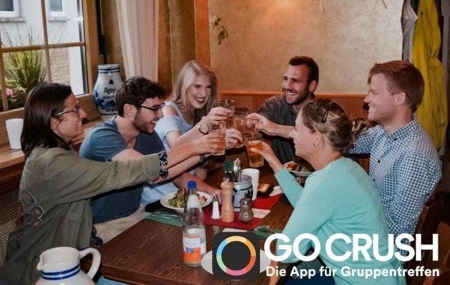 Gruppentreffen mit Go Crush