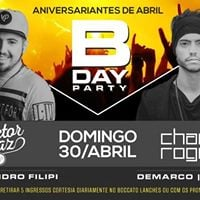 B-Day Party  Edio Abril 2017  Charlly Roger  Demarco