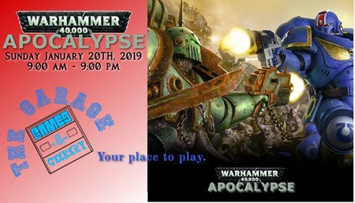 Warhammer 40K Apocalypse Game & 40K Celebration at The