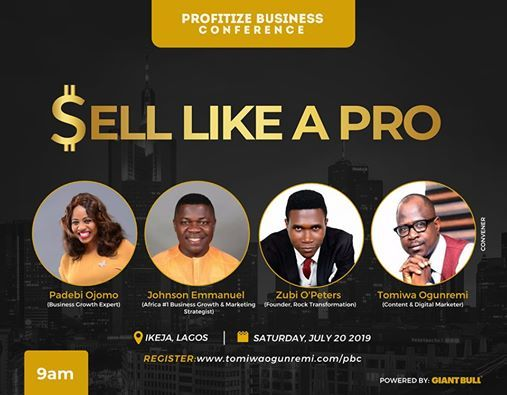 Profitize Business Conference (Sell Like A Pro)