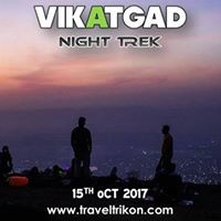 Trikon 684 Vikatgad Fort Night Trek