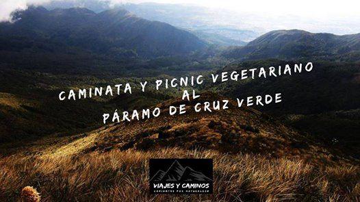 Caminata y Picnic Vegetariano al Pramo de Cruz Verde