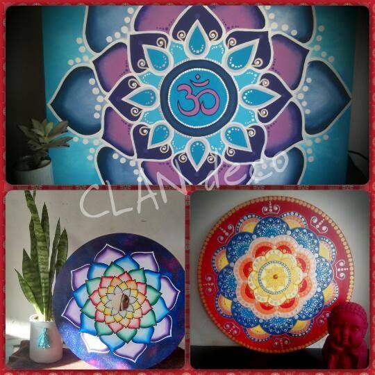Taller de Mandalas Pintados Arte Hind at Espacio Yoga Namast