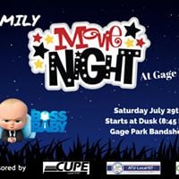 Public Services FAMILY MOVIE NIGHT