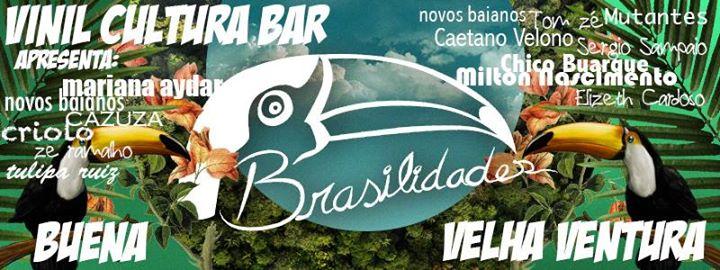 Brasilidades com Buena e Velha Ventura Vinil Cultura Bar