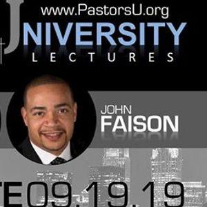 Pastors U Lectures Charlotte 2019