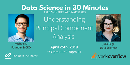 Data Science in 30 Minutes Understanding Principal Component Analysis...