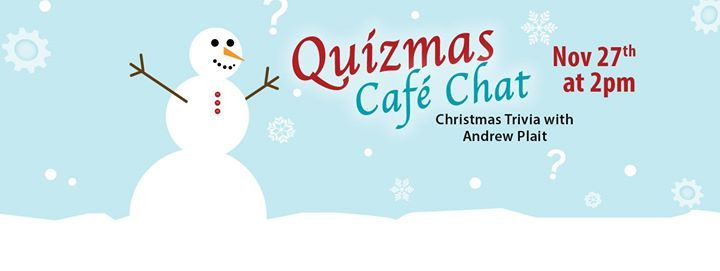 Caf Chat  Quizmas (Christmas Trivia) at MH Public Library