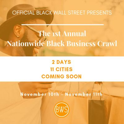 OBWS presents The Nationwide Black Business Crawl - NYC