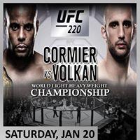 UFC Night - World Light HeavyWeight Championship