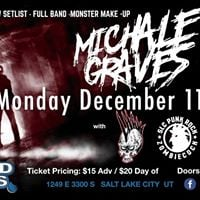 Michale Graves LIVE at Liquid Joes Dec 11th