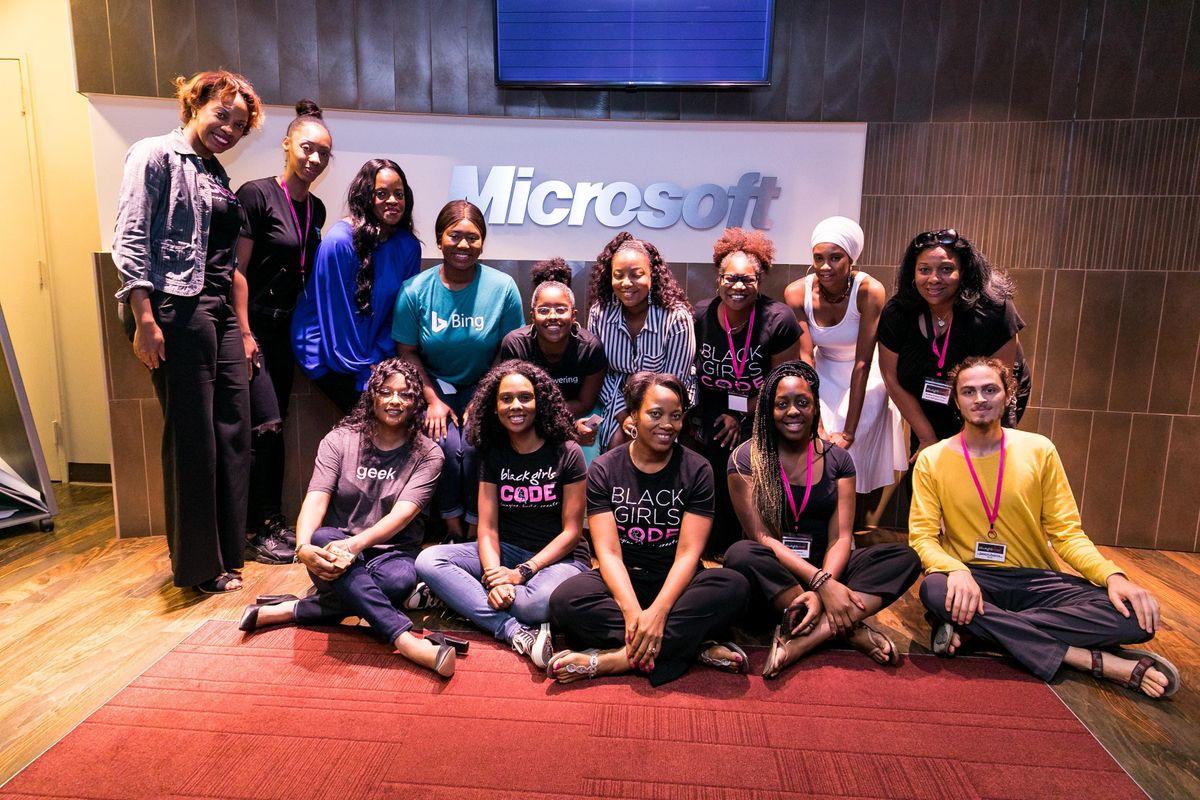Black Girls CODE Miami Chapter Presents MakeCode Arcade at Microsoft