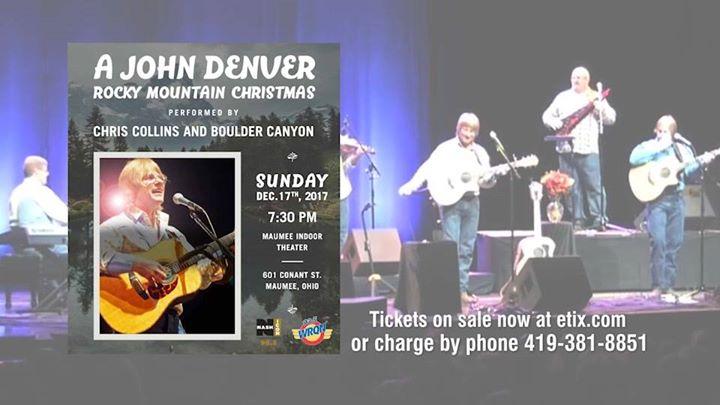 a john denver rocky mountain christmas at maumee indoor theatre maumee - John Denver Rocky Mountain Christmas