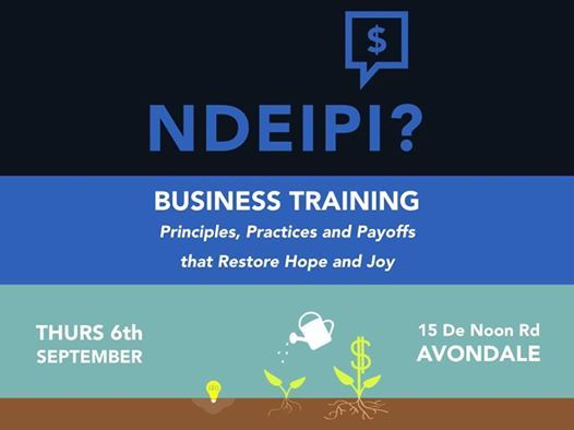 Ndeipi Business Training