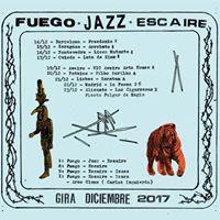 Fuego Jazz &amp Escaire en Lata de Zinc
