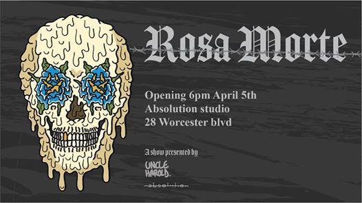 Uncle Harold Exhibition - Rosa Morte